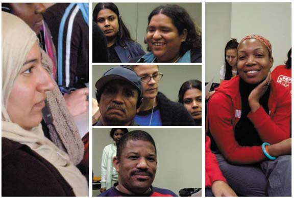 Photos: Participants at the 3rd National Immigrant and Refugee Rights Training Institute  2006 NNIRR